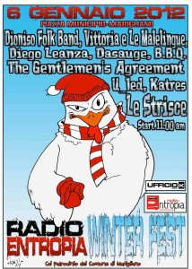 radio entropia winter fest 2012